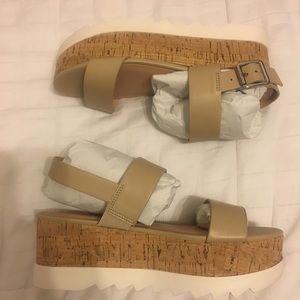 90f52370089 Madden Girl Shoes -  Madden Girl  Nude Sugar Flatform Sandals
